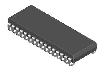 DIP(Dual In-line Package)双列直插式封装