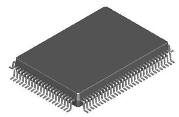 PQFP(Plastic  Quad  Flat  Package)塑料方型扁平式封装