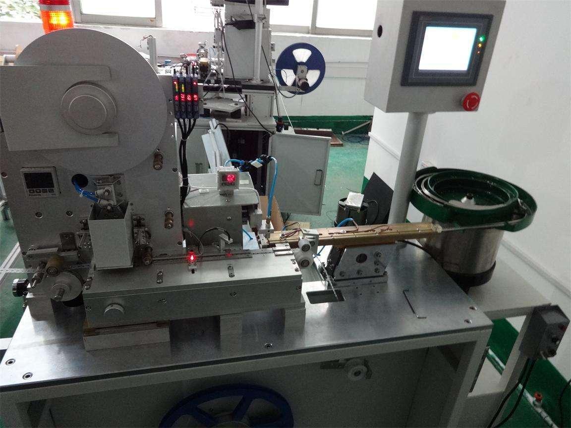 生产载带的设备也叫做编带机或载带成型机